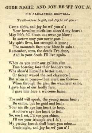 11. From: Robert Chambers, The Scottish Songs, Vol. 1, Edinburgh 1829, p. 80