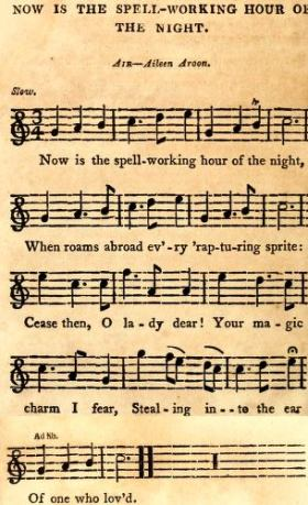 21. From: Crosby's Irish Musical Repository. A Choice Selection Of Esteemed Irish Songs, Adapted for the Voice, Violin and German Flute, London, ca. 1808,, p. 272-3