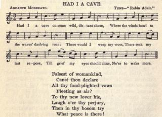 "12. Robert Burns, ""Had I A Cave"", from The Complete Works of Robert Burns (Self-Interpreting), Vol. 5, New York 1909, p. 204"