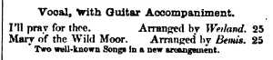 10. Ad in Dwight's Journal of Music, 14.8.1858