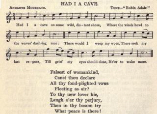 "14. ""Had I A Cave"", from The Complete Works of Robert Burns (Self-Interpreting), Vol. 5, New York 1909, p. 204,"